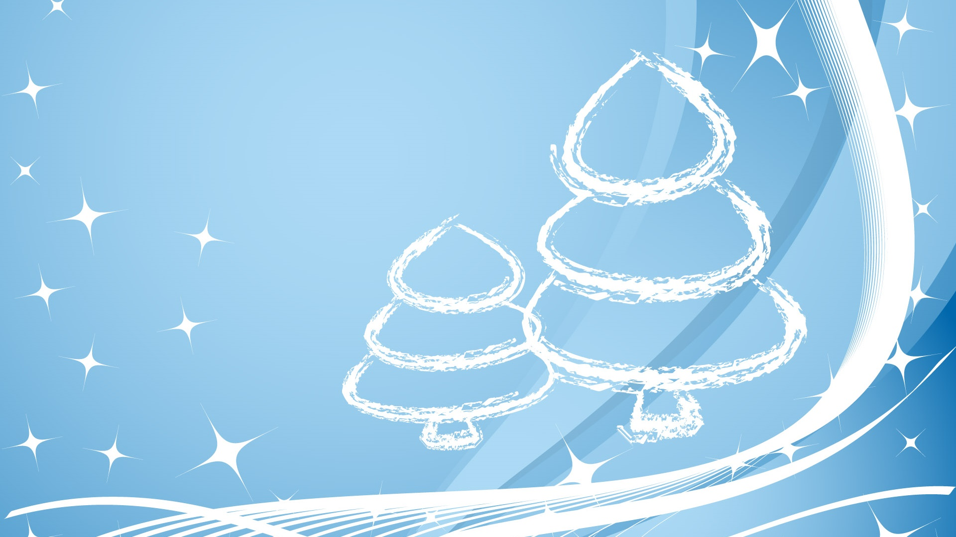 pictures of christmas trees for wallpaper