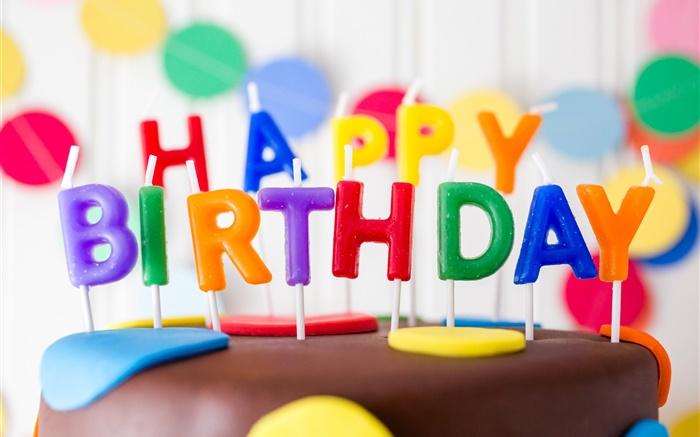 生日��.d9chz`&�b�9f_生日快乐,蜡烛,蛋糕,多彩的字母