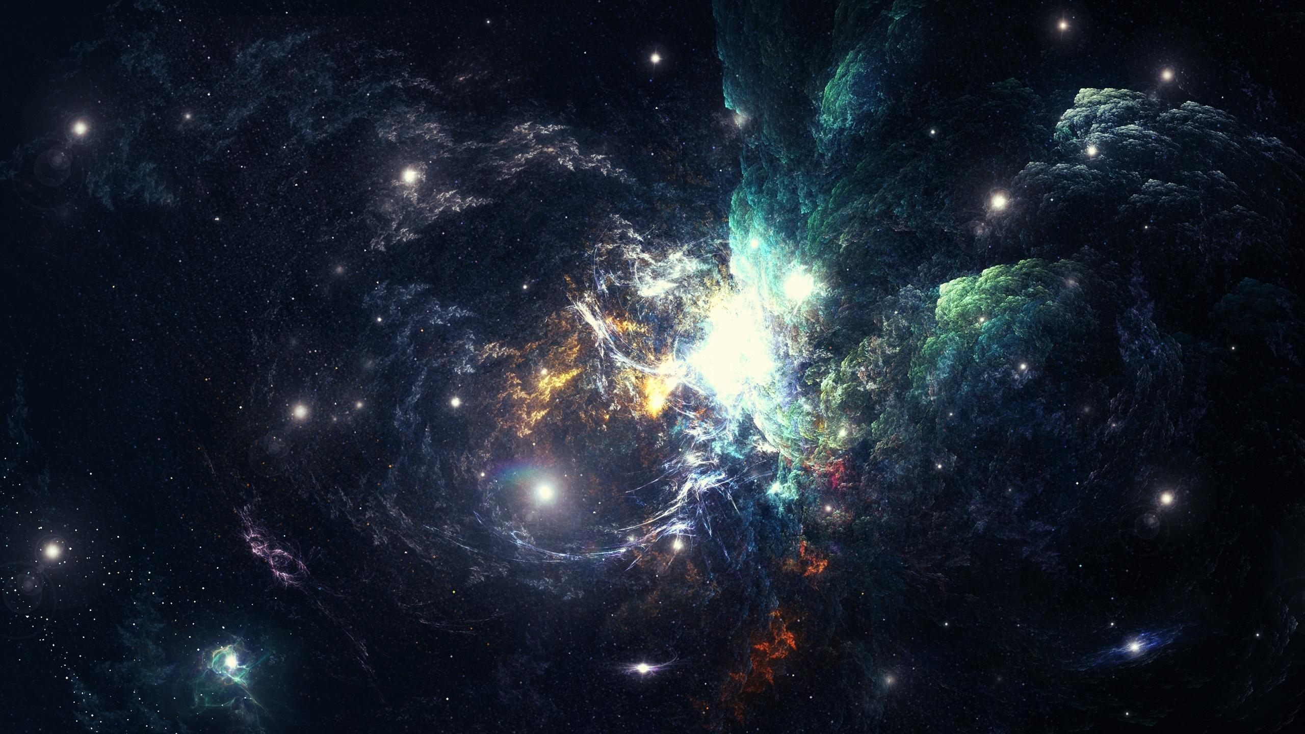 nebula 2560x1440 - photo #23